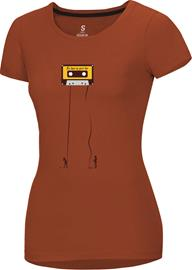 Ocun Classic T-Shirt Women, retro tape rooibos tea