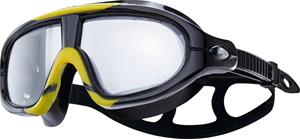 TYR Orion Swim Mask, smoke/black/yellow