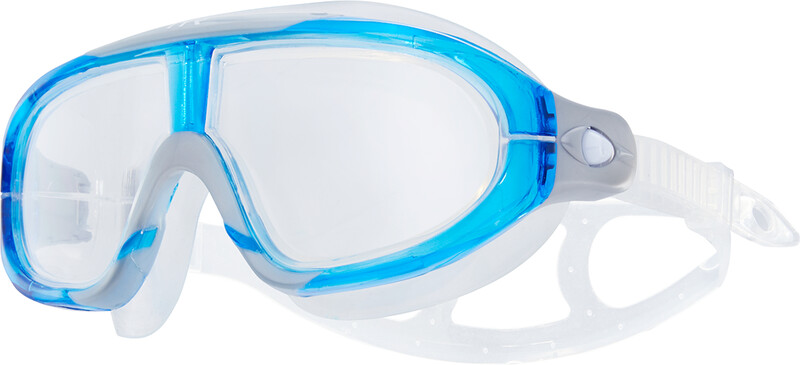 TYR Orion Swim Mask, clear/blue/grey