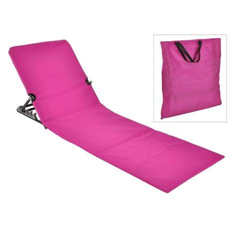 HI Kokoontaittuva rantamattotuoli PVC vaaleanpunainen