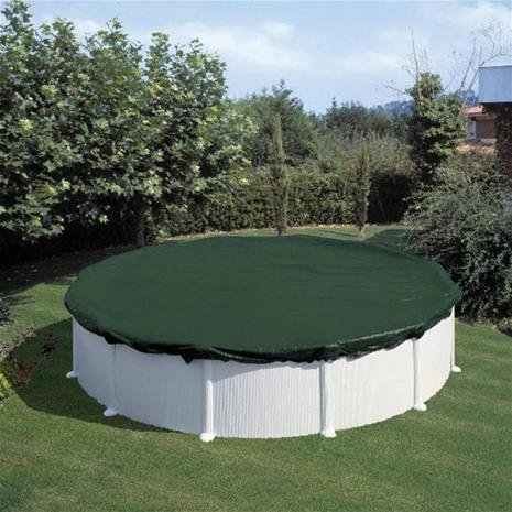 Summer Fun Uima altaan talvisuoja pyöreä 360 cm PVC vihreä