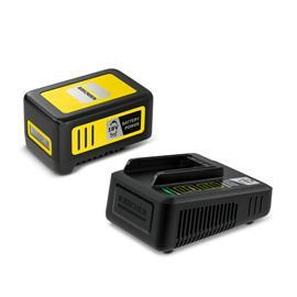 Kärcher Starter Kit Battery Power 18/50 (2.445-063.0) 18V 5,0Ah, työkaluakku ja laturi