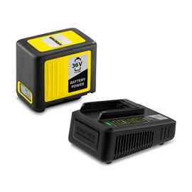 Kärcher Starter Kit Battery Power 36/250 (2.445-065.0) 36V 5,0Ah, työkaluakku ja laturi