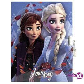 Disney Frozen 2, Lukollinen Päiväkirja - Believe in the Journey