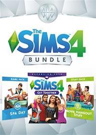 The Sims 4 - Bundle (Kimppapuuhaa, Kylpyläpäivä, Leffailtakamaa), PC-peli