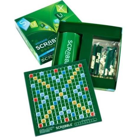 SCRABBLE - Scrabble Voyage - Lautapeli