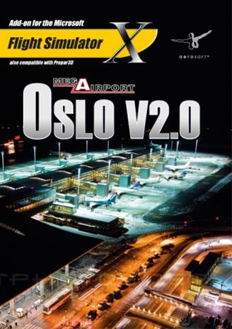 Microsoft Flight Simulator: Mega Airport Oslo V2.0, PC-peli
