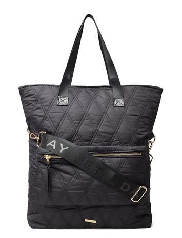 DAY et Day Gw Q Diamond Tatch Bags Shoppers Casual Shoppers Musta DAY Et BLACK