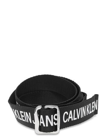 Calvin Klein Ckj Offduty Tape 35mm Accessories Belts Braided Belt Musta Calvin Klein BLACK