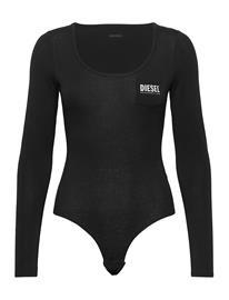 Diesel Women Ufby-Bodypok-Ls Uw Body T-shirts & Tops Bodies Musta Diesel Women BLACK