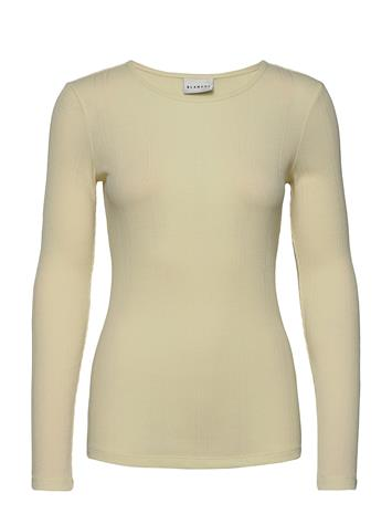 Blanche Cara Longsleeve T-shirts & Tops Long-sleeved Keltainen Blanche SORBET