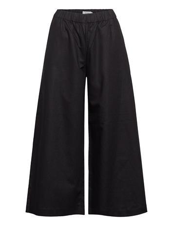 Stylein Bridget Trousers Leveälahkeiset Housut Musta Stylein BLACK