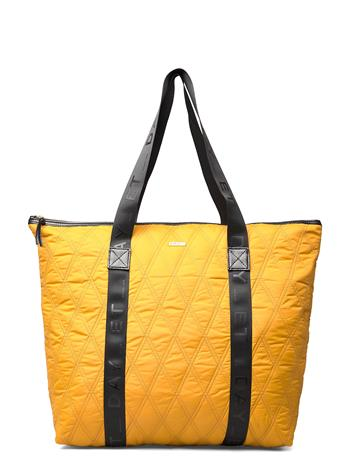 DAY et Day Gw Q Diamond Bag Bags Shoppers Casual Shoppers Keltainen DAY Et BUCKTHORN BROWN