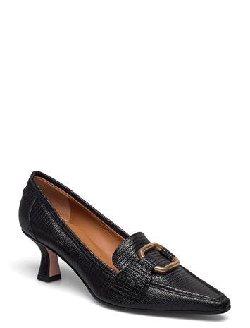 NOTABENE Ellinor Shoes Heels Pumps Classic Musta NOTABENE BLACK LEATHER