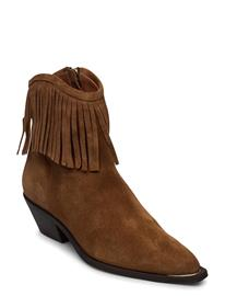 Billi Bi Booties 4916 Shoes Boots Ankle Boots Ankle Boots With Heel Ruskea Billi Bi TABAC BABYSILK SUEDE 555