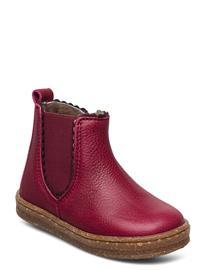 Bisgaard Bisgaard Siggi Shoes Pre Walkers Beginner Shoes 18-25 Punainen Bisgaard PINK