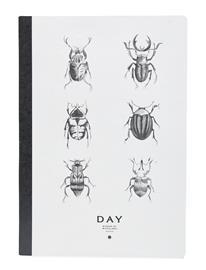 DAY Home Day Notebook Kodin Sisustus Harmaa DAY Home WHITE/ BLACK