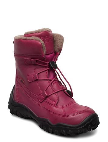 Bisgaard Tex Boot Nauhalliset Talvikengät Vaaleanpunainen Bisgaard PINK