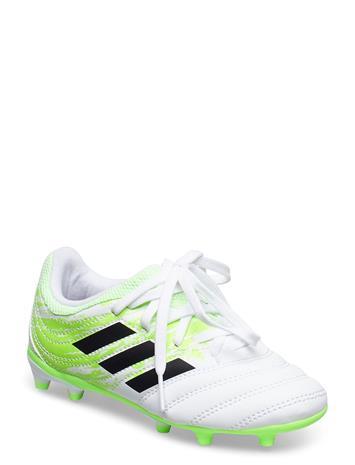 adidas Performance Copa 20.3 Fg J Shoes Sports Shoes Football Boots Valkoinen Adidas Performance FTWWHT/CBLACK/SIGGNR
