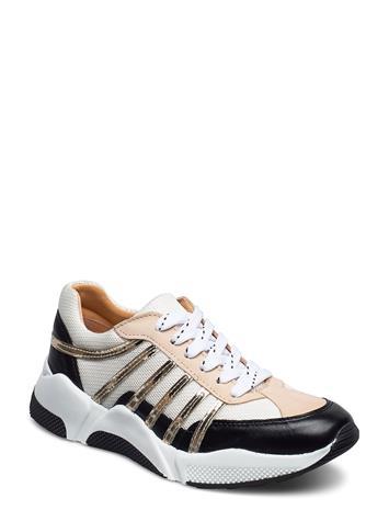 Billi Bi Sport 4860 Matalavartiset Sneakerit Tennarit Monivärinen/Kuvioitu Billi Bi BLACK/WHITE/GOLD COMB.723
