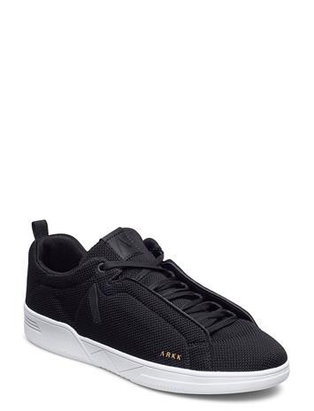 ARKK Copenhagen Uniklass Fg S-C18 Black White - Men Matalavartiset Sneakerit Tennarit Musta ARKK Copenhagen BLACK WHITE