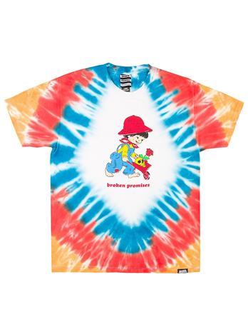Broken Promises Garden T-Shirt tie dye multi Miehet