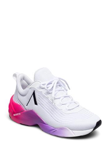 ARKK Copenhagen Avory Mesh W13 White Bright Pink - Matalavartiset Sneakerit Tennarit Valkoinen ARKK Copenhagen WHITE BRIGHT PINK