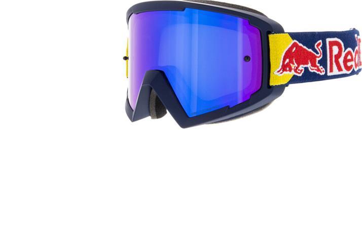 Red Bull SPECT Whip Googles, dark blue/blue flash/grey with blue mirror