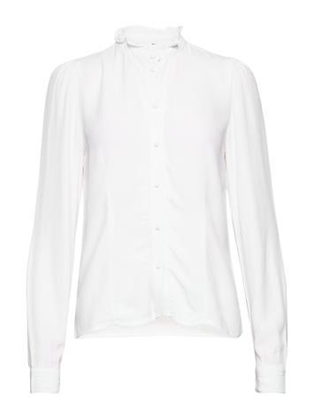 Vero Moda Vmvilma Ls Shirt Vmc Ga Pitkähihainen Pusero Paita Valkoinen Vero Moda BRIGHT WHITE