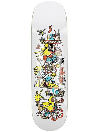 """Krooked Louie Lopez Guest Board 8.25"""""""" Skateboard Deck uni"""