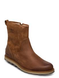 "Sorel Madsonâ""¢ Zip Waterproof Shoes Sport Shoes Outdoor/hiking Shoes Ruskea Sorel ELK, ANCIENT FO"