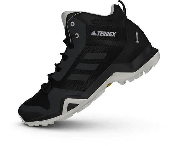 adidas TERREX AX3 Mid Gore-Tex Hiking Shoes Women, core black/dgh solid grey/purple tint
