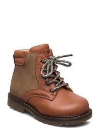 Bisgaard Bisgaard Saxo Shoes Pre Walkers Beginner Shoes 18-25 Ruskea Bisgaard COGNAC