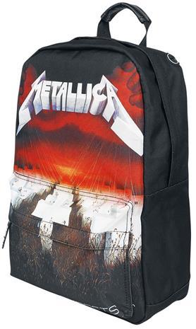 Metallica - Master Of Puppets - Reppu - Unisex - Musta