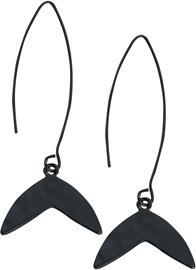 Wildkitten® - Mystic Fin Earrings - Korvakoru - Naiset - Musta