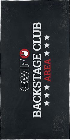 EMP - EMP Backstage Club - Kylpypyyhe - Unisex - Monivärinen