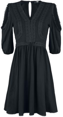 Black Premium by EMP - Black Premium Boho Style Dress - Lyhyt mekko - Naiset - Musta