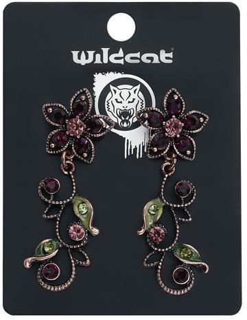 Wildkitten® - Flowery Earstuds - Nappikorvakorusetti - Naiset - Monivärinen