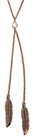 Wildkitten® - Feather Necklace - Kaulakoru - Naiset - Hopeanvärinen