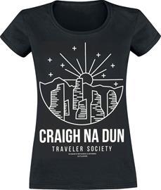 Outlander - Craigh Na Dun - T-paita - Naiset - Musta