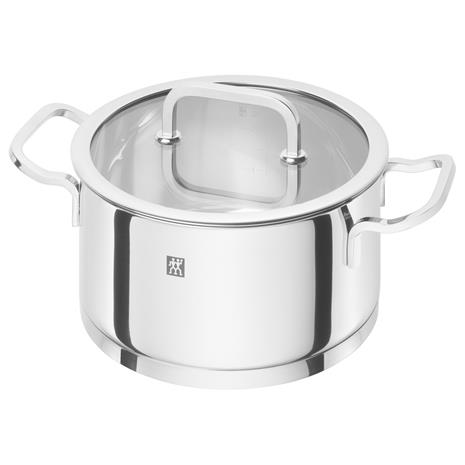Zwilling Moment S Pot With Glass Lid 3 L/ä˜20x10 cm