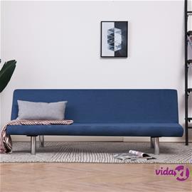 vidaXL Vuodesohva sininen kangas