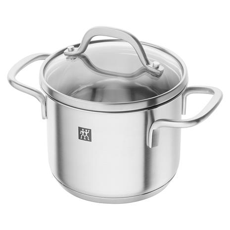 Zwilling Pico Pot With Glass Lid High 1 L/ä˜12 cm