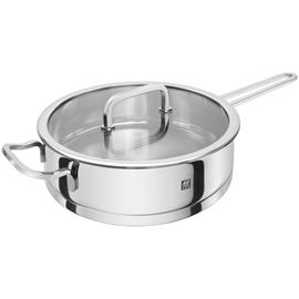 Zwilling Moment S Saute Pan With Glass Lid ä˜24x10 cm
