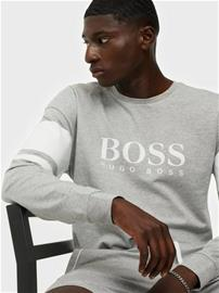 BOSS Authentic Sweatshirt Puserot Light Grey