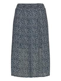 Superdry Summer Pleated Skirt Polvipituinen Hame Sininen Superdry NAVY DITSY