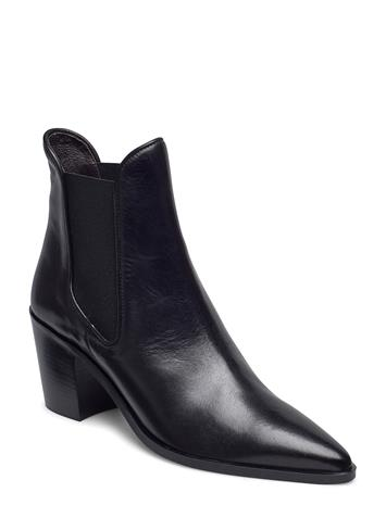 Billi Bi Boots 4942 Shoes Boots Ankle Boots Ankle Boots With Heel Musta Billi Bi BLACK CALF 80