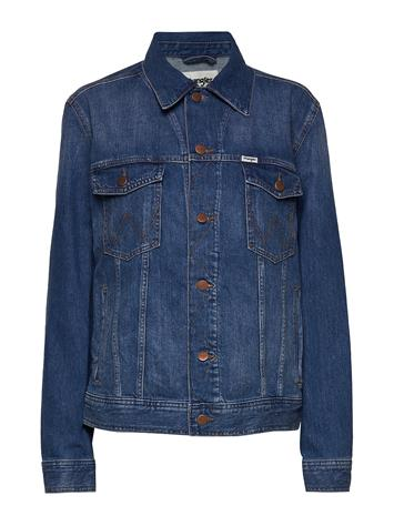 Wrangler Authentic Jacket Farkkutakki Denimtakki Sininen Wrangler THE GATHERING