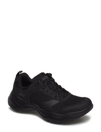 Skechers Womens Gowalk Mantra Ultra Matalavartiset Sneakerit Tennarit Musta Skechers BBK BLACK