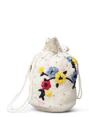 Ganni Purse Bags Bucket Bag Kermanvärinen Ganni EGRET